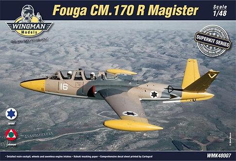 Fouga CM.170 R Magister Superkit 1:48