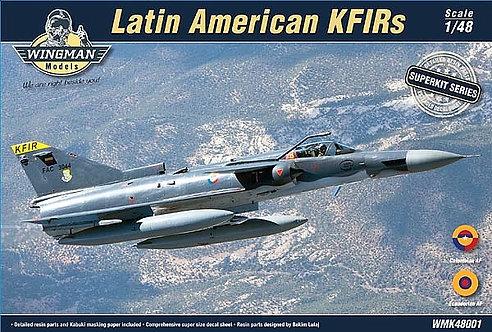 Latin American KFIRs Superkit 1:48