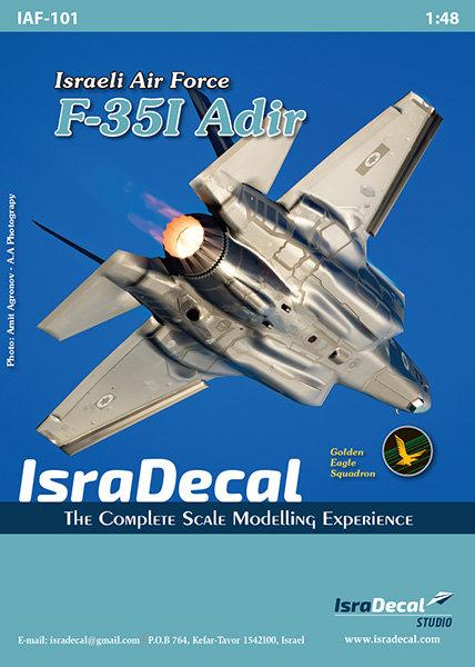 IAF F-35I 'Adir' 1:48 (IAF101)