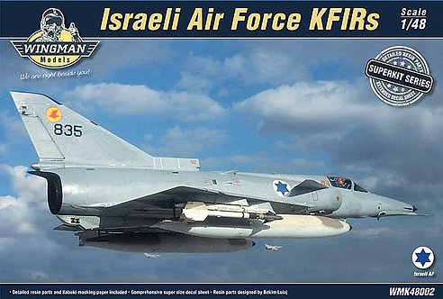 IAF KFIRs C2/C7 Superkit 1:48