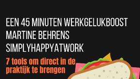 Week van het Werkgeluk: Broodje geluk