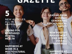 Happiness Gazette: tijdschrift over Werkgeluk