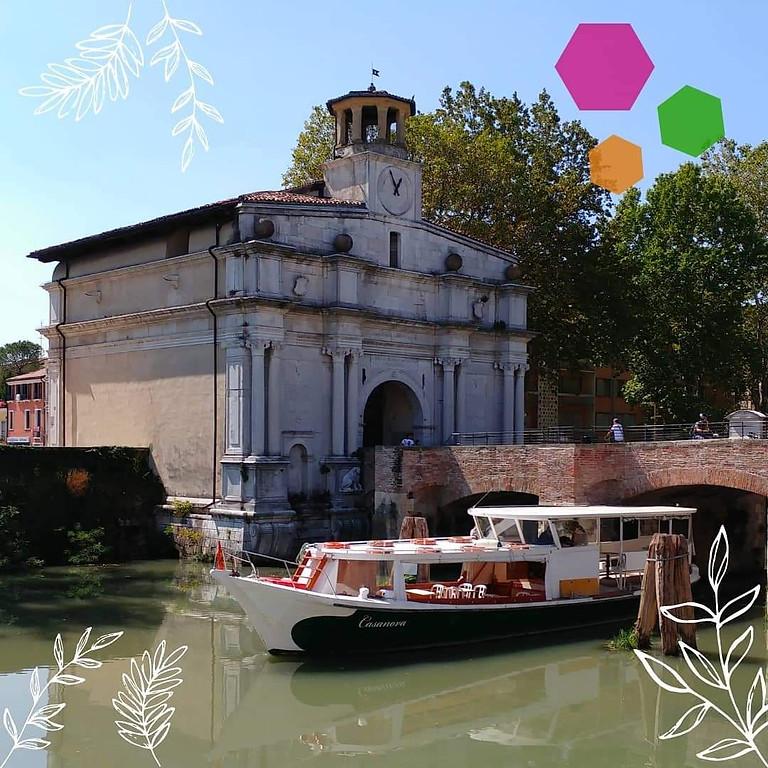 17 Ottobre h 16,00: crociera fluviale a Padova  e cioccolata calda a bordo