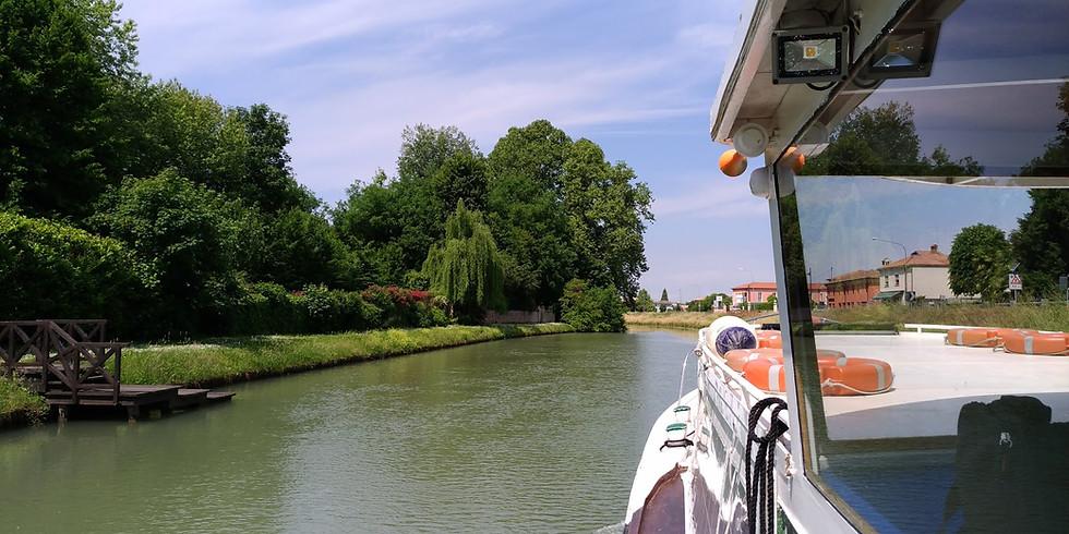 20 Ottobre ore 14.30: Tour in battello e visita guidata in Riviera del Brenta