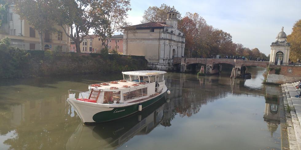 Padova-Bassanello: Crociera fluviale a Padova con aperitivo