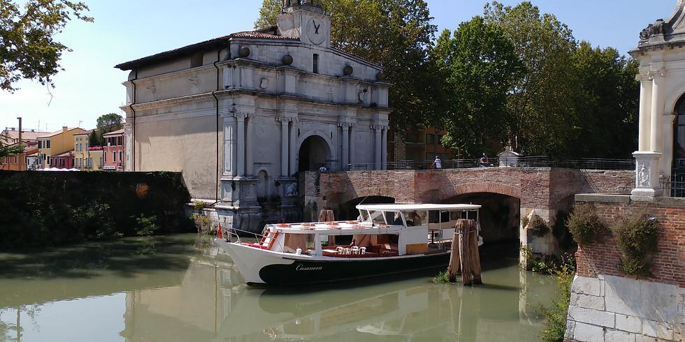 Sabato 3 Agosto ore 20,00: Padova Fluviale Serale lungo il Piovego da Porte Contarine a Bassanello e ritorno