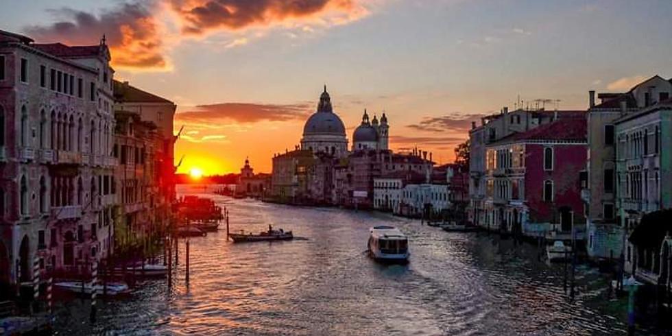 Minicrociera con aperitivo nel Bacino di San Marco a Venezia e visita di Villa Foscari