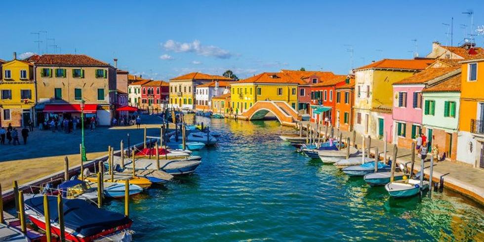 13 Aprile Pasquetta 2020 Isole della Laguna: Murano, Burano, S.Giorgio