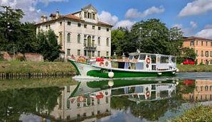 tour in barca ville della riviera del brenta