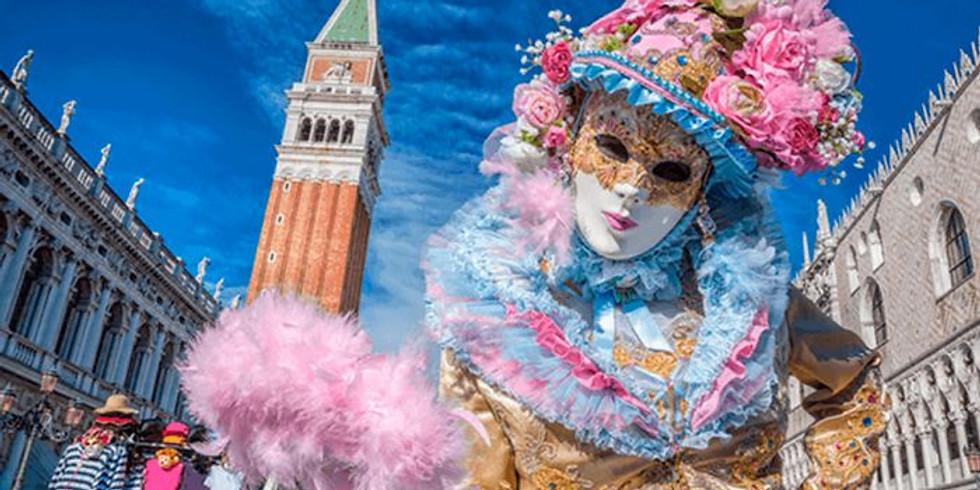 Domenica 16 Febbraio 2020: Carnevale a Venezia  Il Volo Dell'Angelo e Burano