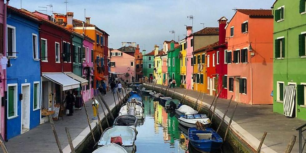1 Maggio:  Andar per isole: Torcello, Burano, S. Erasmo
