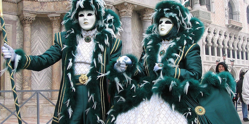 25 Febbraio, Martedì Grasso, Carnevale a Venezia