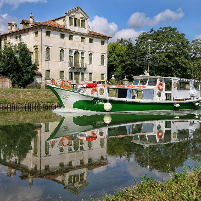 10 Ottobre pomeriggio in battello lungo la Riviera del Brenta