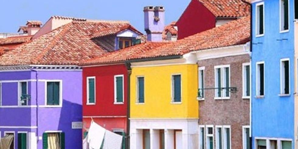 6 Luglio:  Andar per isole: Torcello, Burano, San Francesco del Deserto