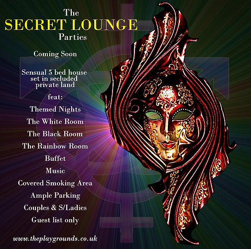 The SECRET LOUNGE Parties