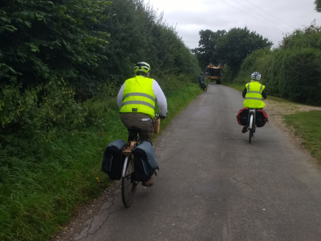Cycling from Lenwade to Castle Acre