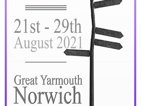 Count down to the start of the pilgrimage in Great Yarmouth on Saturday! Two more days to go.