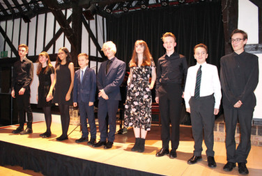 Finalists in the RC Sherriff Trust Young Musician of the Year 2017