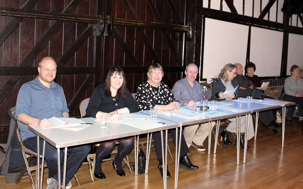 Panel of judges for the Young Musician of the Year Competition