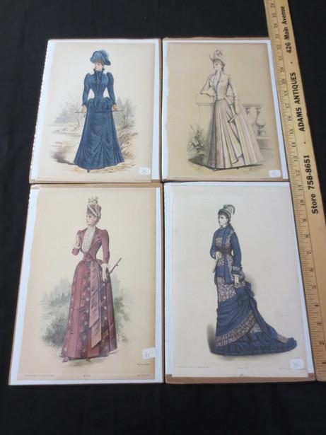 La Mode Illustree Ladies' Fashion Prints