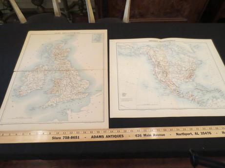 Atlas de Geographie militaire E. Dubail 1881