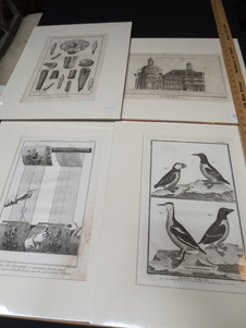Antique French engravings from Encyclopédie by Diderot & D'Alembert circa 1760
