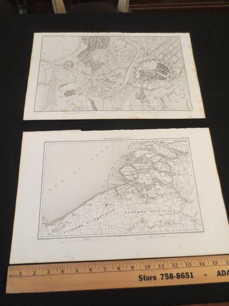Atlas de l'Histoire du Consulat et de l'Empire 1864   Thiers,  Dufour, & Dyonnet