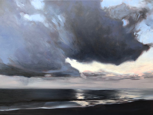 Signed Giclee print of The Storm Passes