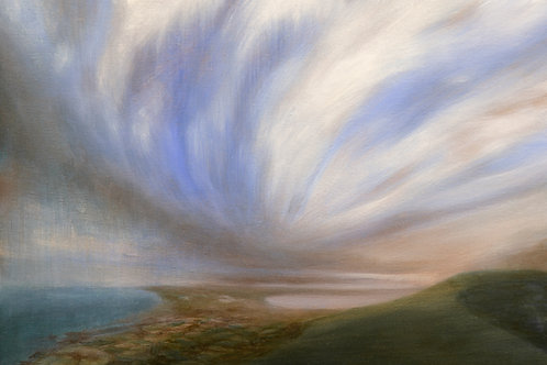 Signed Giclee print of View to the Headland