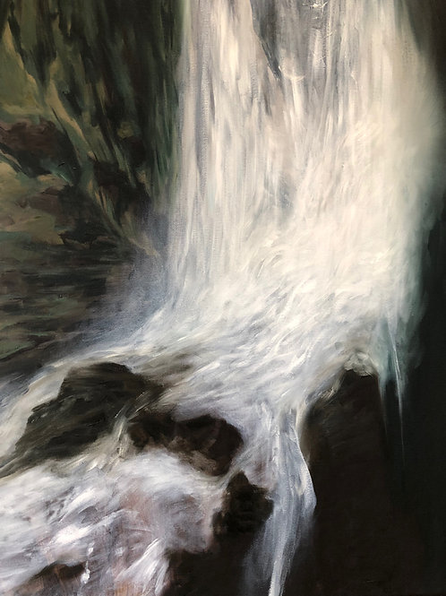 Signed Giclee print of Luminous Fall