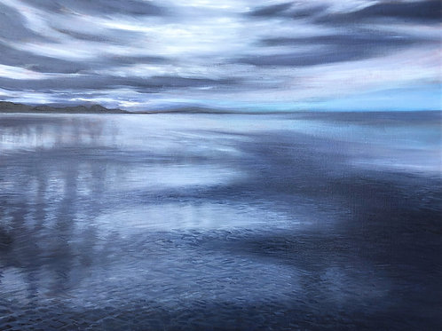 Signed Giclee print of Inky Shoreline