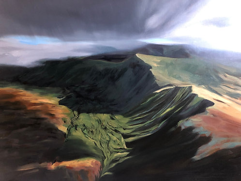 Signed Giclee print of Brecon Storm Brews