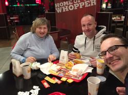 Burger King nach der Freitags-Anbetung;)