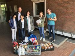 Obdachlosenprojekt während Corona-Pandemie