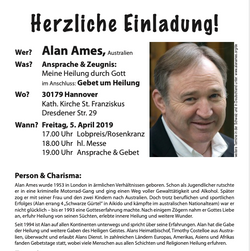 Gebetsabend 2019 mit Alan Ames