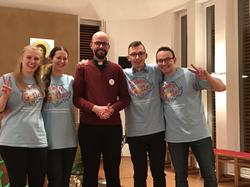 Lobpreis bei Diözesanseelsorger Pfarrer Braun:)