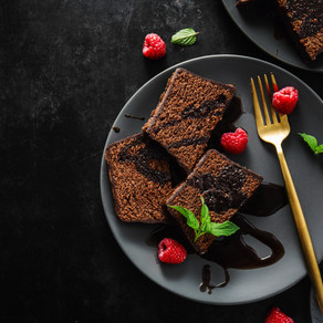 ギー|チョコバナナスフレケーキ