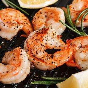 Ghee  |  Garlic Shrimps