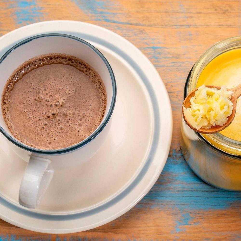 ギーレシピ・バターコーヒー(完全無欠コーヒー)|Rainbow Farms