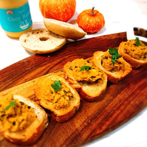 Ghee  |  Pumpkin and Sweet Potato Open Sandwich