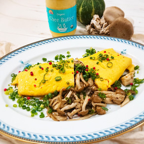 Ghee  |  Mushroom Omelet