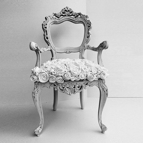 BAROQUE CHAIR WITH ARM