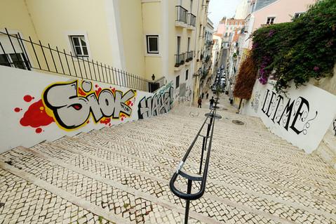 Graffitti in Lisbon Street