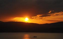 Sunset from Skiathos