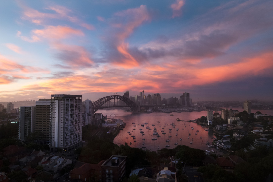 Sunrise over the Harbour