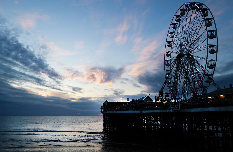 Big Wheel Sunset