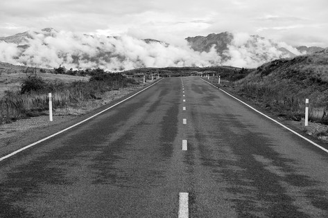 Road to Lake Pukaki