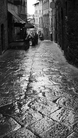 Wet Streets of Volterra