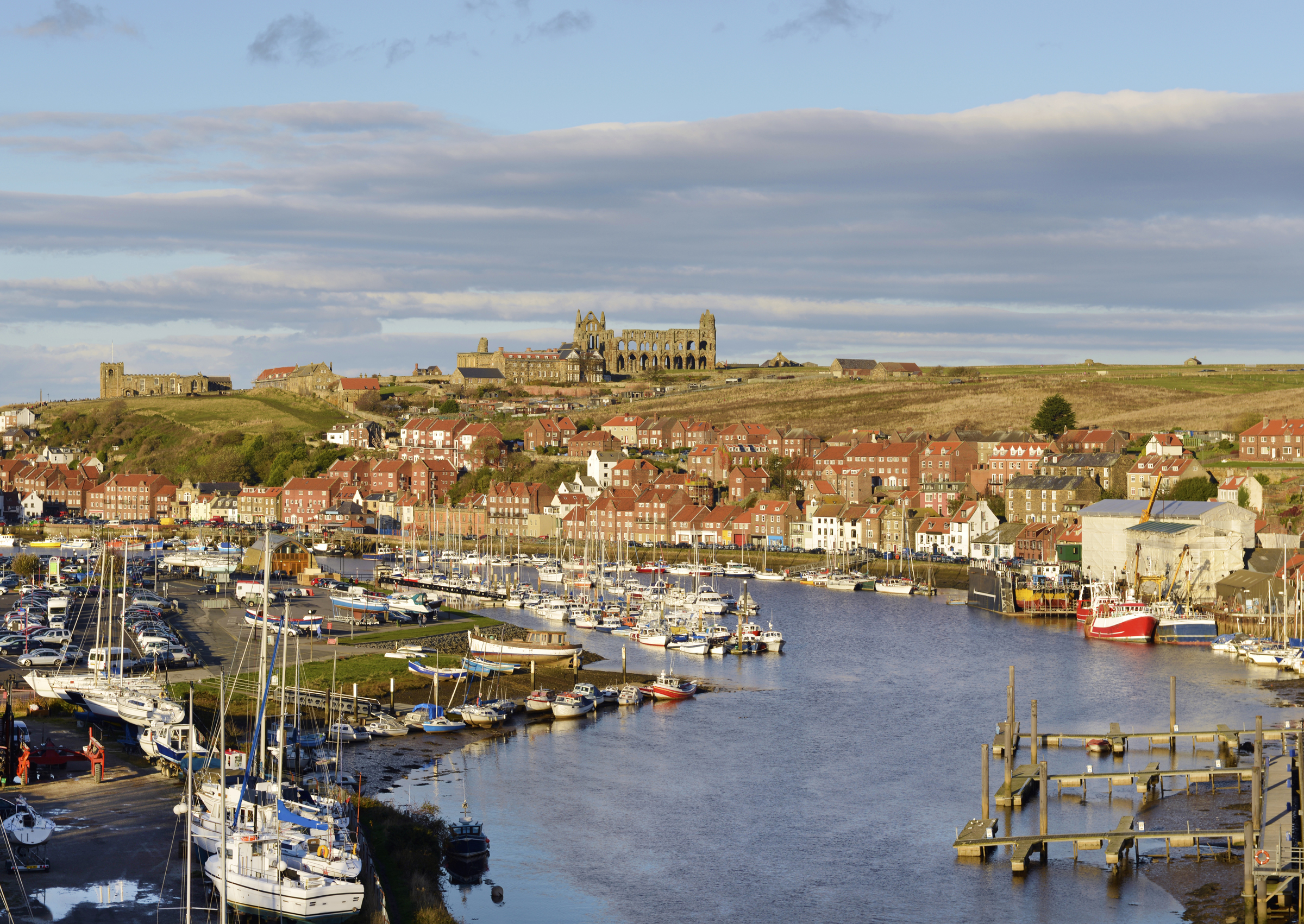 Whitby Across the Harbour