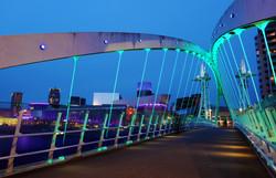 Millennium Bridge and the Lowry
